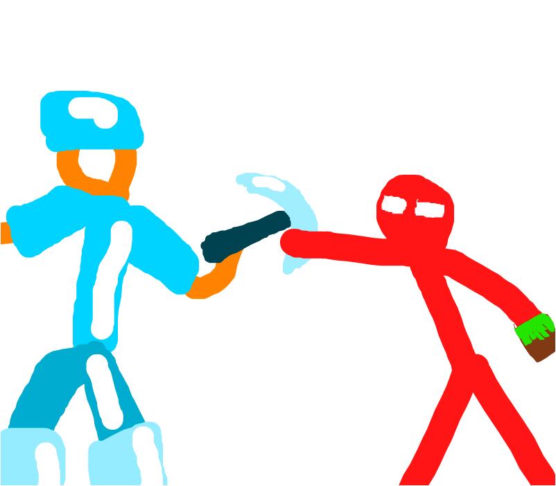 Animatori vs Minecraft