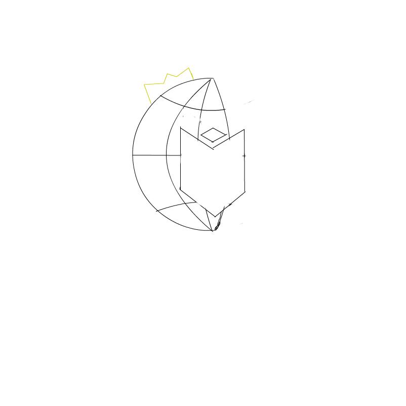 King logo rough draft