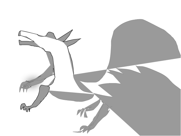 A cured dragon