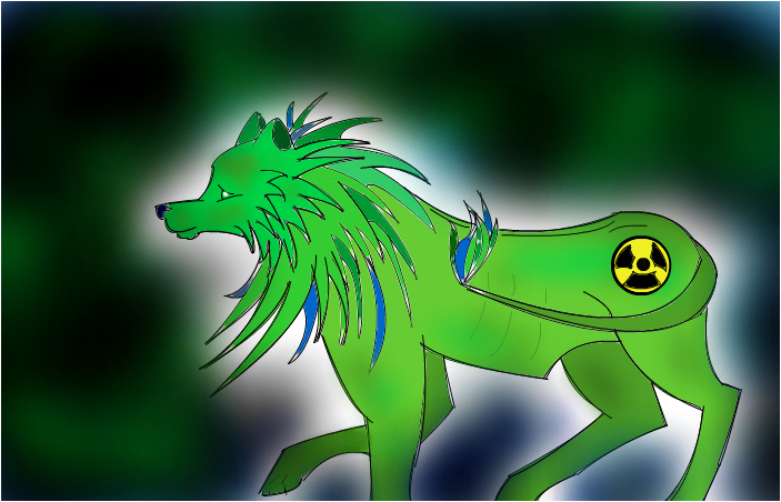 Radioactive Lion