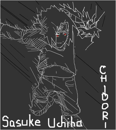 Uchiha Sasuke - Roar of the Chidori