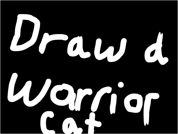 hay every one draw a warrior cat like scourge