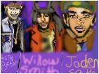 -Justin Bieber, Willow Smith, & Jaden Smith.-