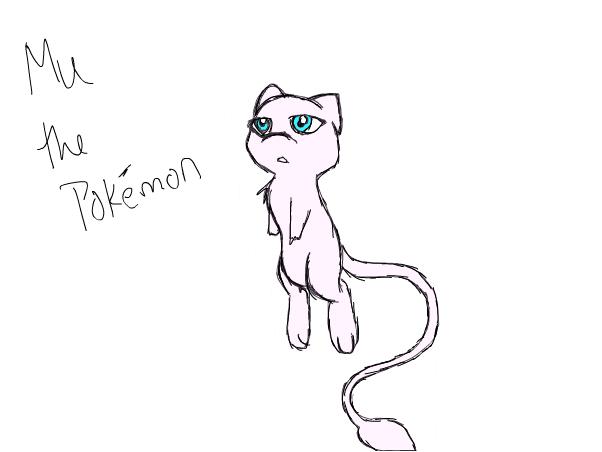 mu the pokemon (not mine)