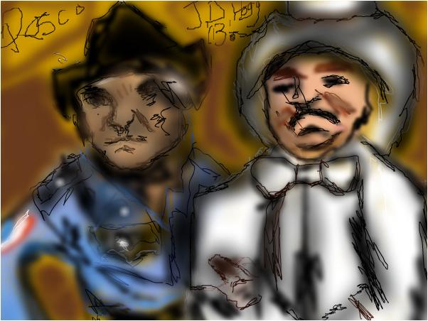 The Dukes Of Hazzard's, Rosco & J.D Hogg! O.O XD