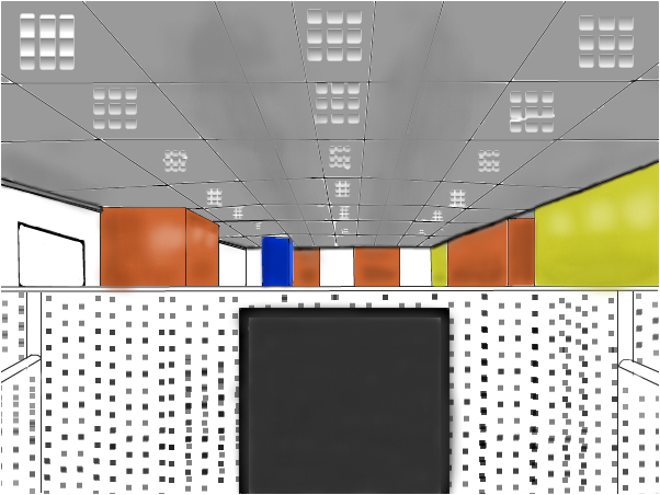 Unfinished Office Workstation