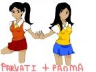 Parvati and Padma Patil