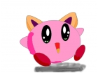 kirby with cat ears!?