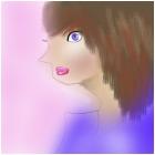blue person