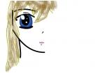 Half anime face