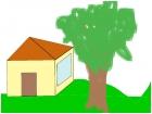 una de mis tantas casitas dibujadas