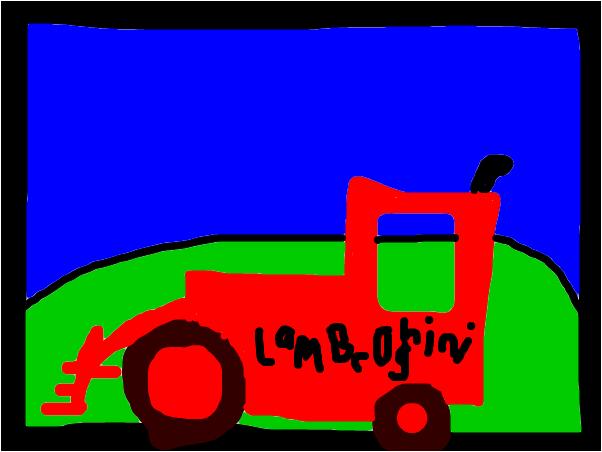 Mr.Gimp's Lambroghini