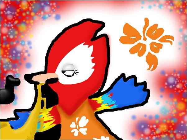 Epic sax Bird (regular show based)