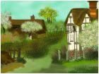 1800's English Farm Yard.