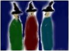 Macbeth -- three witches