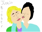 Justin Bieber with his bf
