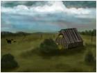 Little Barn on a Hill