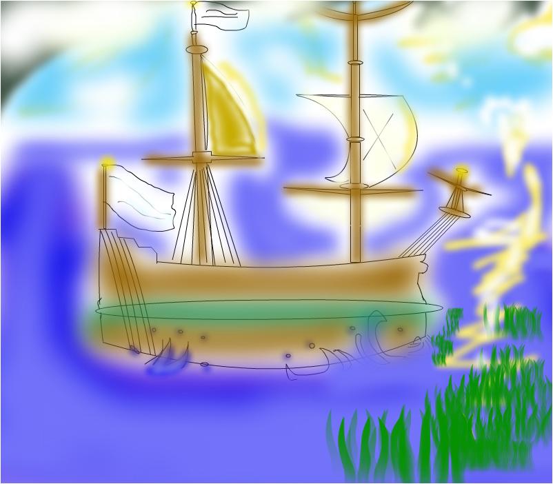 rene robert la salle's boat!.