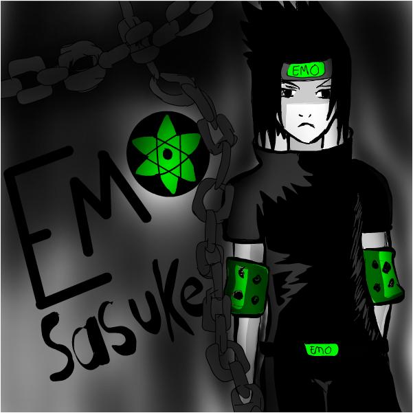 Emo Sasuke (Request)