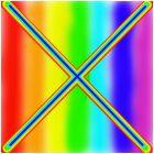 """the rainbow """"x"""""""