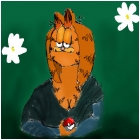 mona lisa garfield and pokemon